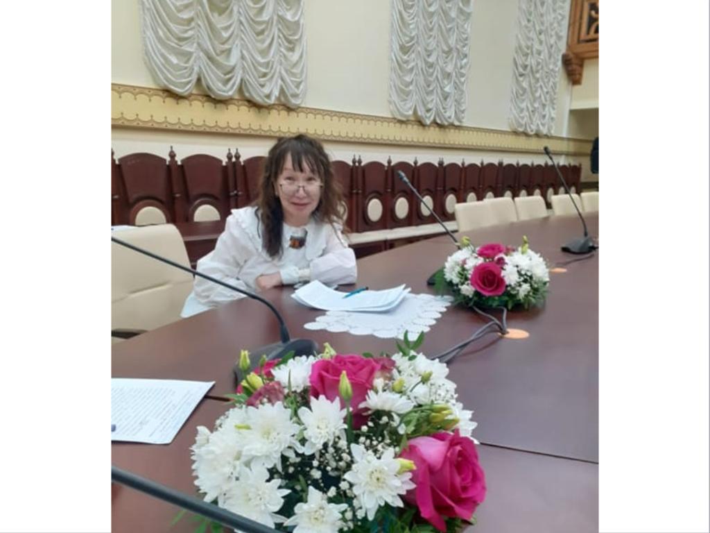 Поздравляем доктора исторических наук Екатерину Назаровну Романову с юбилеем!